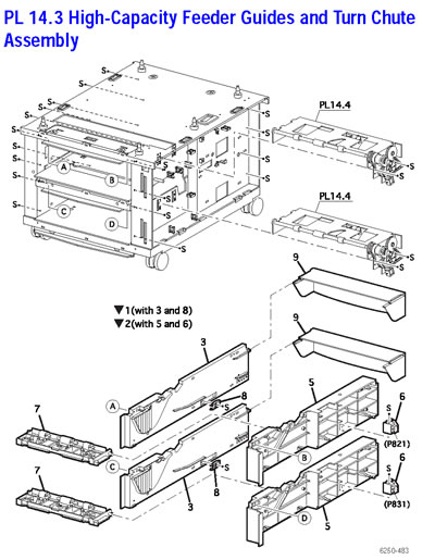 Xerox Phaser 6250 Service Manual
