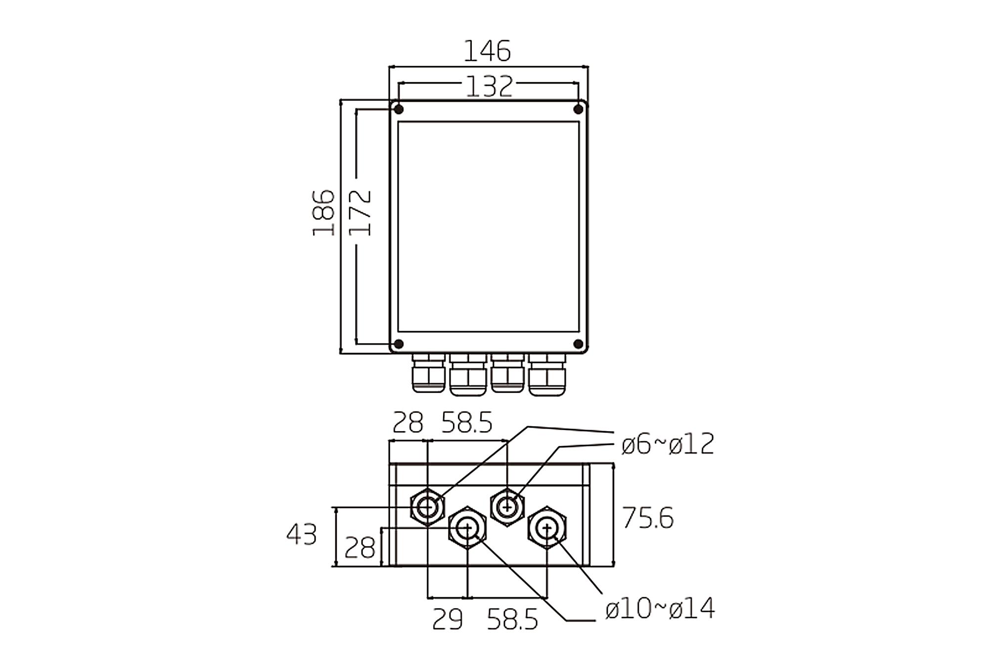 Digitus Kamera Stromzufuhr Box 220v 230v Auf Ac 24v 3a Dn