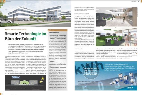 TGA 12/2017 Office Base – technische Features