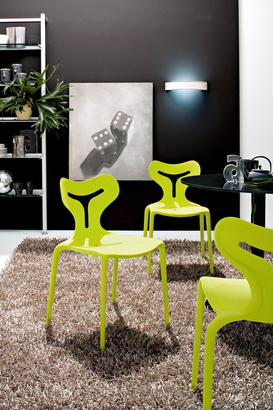AREA 51 BY CALLIGARIS DINING CHAIR  Chairs