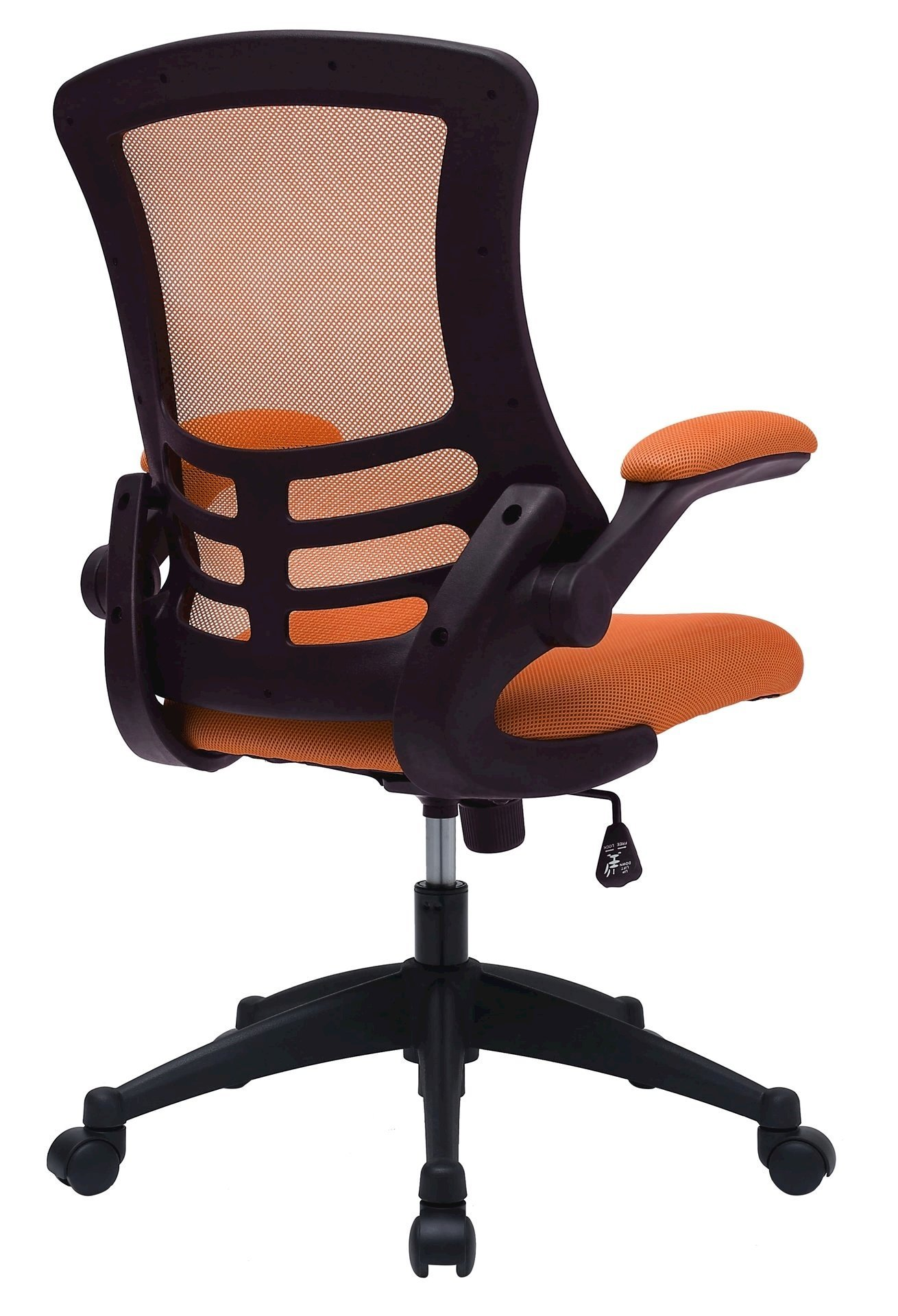 orange office chairs uk tatami floor chair canada company luna designer mesh