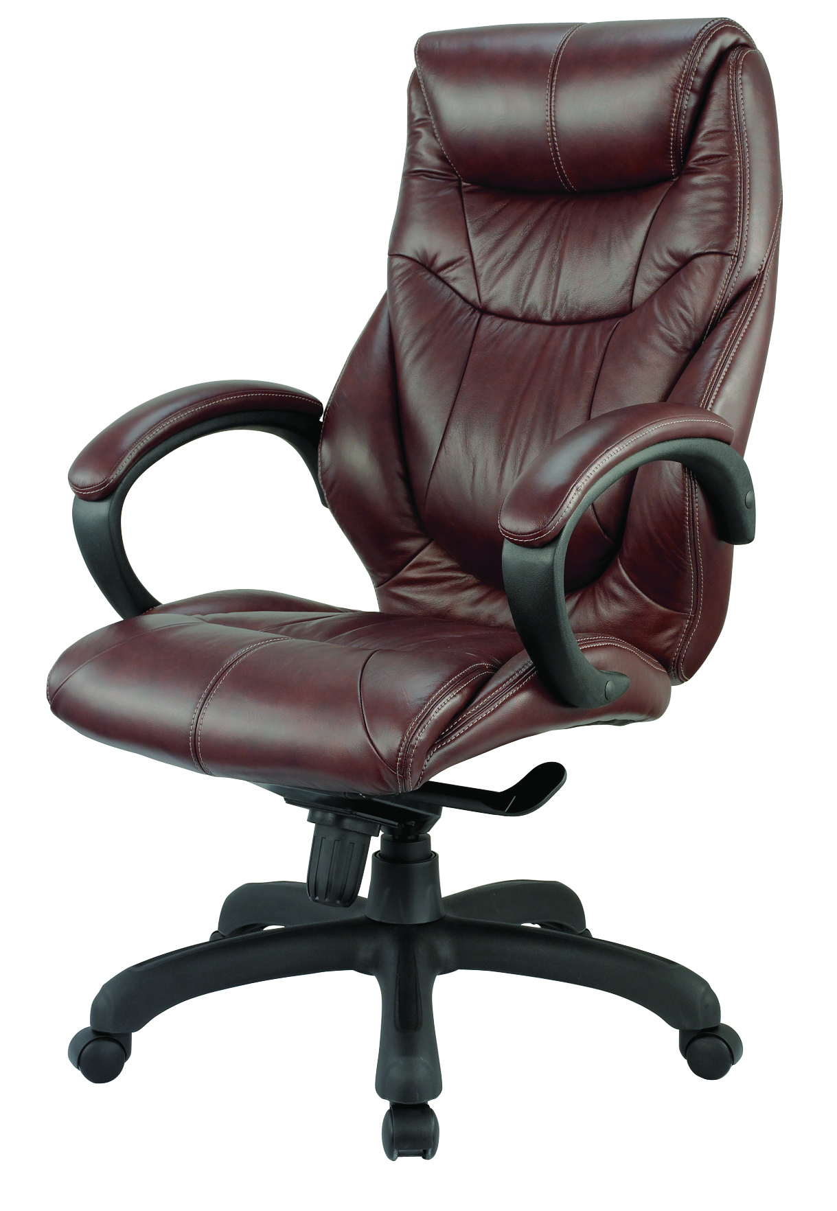 genuine leather chair lazyboy desk executive office chairs canada