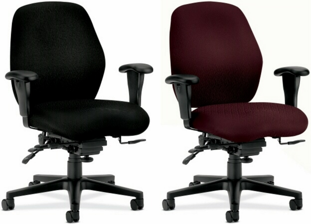 hon desk chair lounge folding task chairs mid back ergonomic 7828 thumbnail