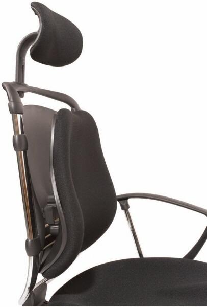 balt posture perfect chair navy blue with ottoman lumbar support office 34571 thumbnail