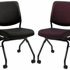 Cushions For Metal Folding Chairs Ergonomic Chair Lower Back Support Hon - Armless With Casters [pn1]