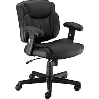 Staples Telford II LuxuraManagers Chair, Black
