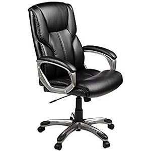 AmazonBasics High-Back Executive Chairs review