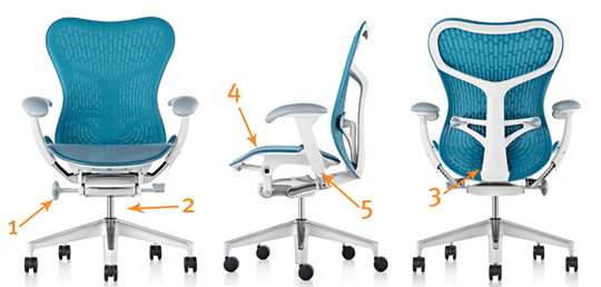 adjustable desk chairs dining chair modern office buying guide help uk some tips to you make the right choices