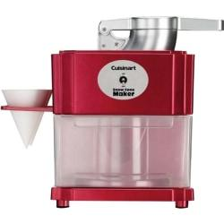 All you need is ice, flavored syrup and a Cuisinart Snow Cone maker to enjoy fun, icy treats at home, any time! It's easy and safe to operate, too. Cuisinart Snow Cone Maker is one of many Food Processors available through Office Depot. Made by Cuisinart.