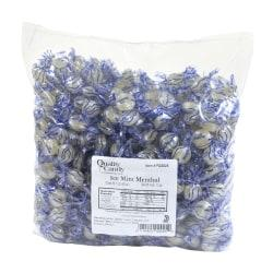 Enjoy cool mint menthol flavor in a pearly white hard candy  Mints are refreshing treats for after dinner or at parties.  Kosher, gluten-free and nut-free to accommodate special dietary concerns.