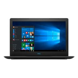 Power through your everyday tasks with the Dell Inspiron G3 15 3579. This laptop comes packed with a blazing-fast Intel Core i5 processor, as well as a spacious 1TB hard drive, giving you the speed and storage you need to get your work done ahead of schedule. 15.6in. FHD (1920 x 1080) display helps prevent glare for easy viewing. LED backlighting provides a thinner, more energy-efficient screen. Powered by an 8th Gen Intel Core i5.  8GB of memory is available to run your powerful programs and games. Memory is expandable up to 32GB. Additional memory is sold separately. Powerful 1TB (1000GB) hybrid hard drive with an 8GB cache holds your songs, photos, files and documents.  Features Wireless-AC (802.11ac) for high-performance, cable-free networking. Access wireless networks to share files, surf the Web and exchange e-mail. Fully compatible with 802.11a/b/g/n. Wired networking is also supported. Secure Digital(TM) memory card reader for file transfers made fast and easy. Transfer your digital photos, music and other files from 3 types of memory cards. Integrated widescreen HD webcam with dual array digital microphone lets you stay connected with others via video and voice messaging. Supports video resolutions up to 720p. Waves MaxxAudio(R) Pro with stereo speakers for immersive sound.  Features Bluetooth(R) wireless technology. Permits short-range wireless data transfers at up to 30ft. with other Bluetooth-enabled devices, such as phones, speakers and printers. Use the HDMI(TM) port to view videos and photos on your HDTV (HDMI cable is sold separately).  Wireless Display technology provides a convenient link to your TV.  Integrated numeric keypad promotes fast data entry and calculations.  Runs on Windows 10 Home.  Intel, the Intel Logo, Intel Inside, the Intel Inside logo, Intel Core, Intel Atom, Celeron, Pentium and Pentium Inside are trademarks of Intel Corporation in the U.S. and/or other countries.