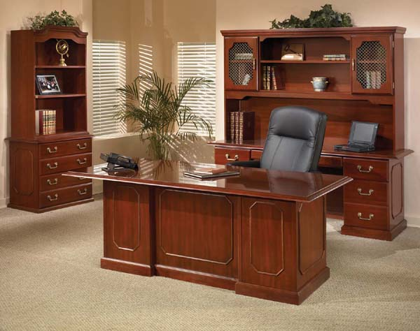 Ambassador Traditional Laminate Office Furniture by DMI