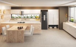COZINHA MODERNA CLEAN PLANEJADA  Office e Home