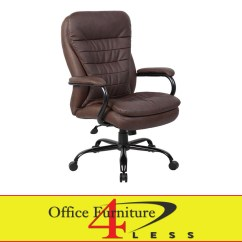 Tall Swivel Chair Eames Plywood Lounge B991bb Big Brown Office Furniture 4 Lessoffice Less