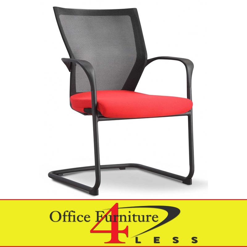 office chair red leave your hat on dance c 88b ps2 rd meshback guest furniture 4 lessoffice less