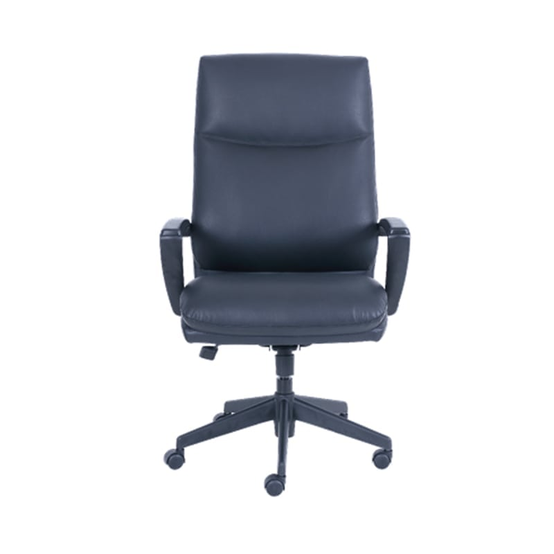 Serta Big and Tall Office Chair  Black Leather  Office