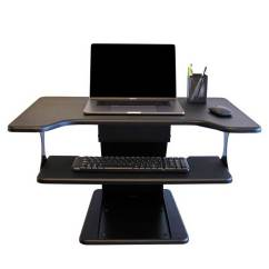 Office Chair Riser Covers For Hire Sydney Ez Sit Stand Desk Height Adjustable Furniture