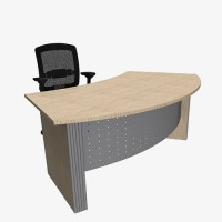 Style Range Curved Desk - London Office Furniture