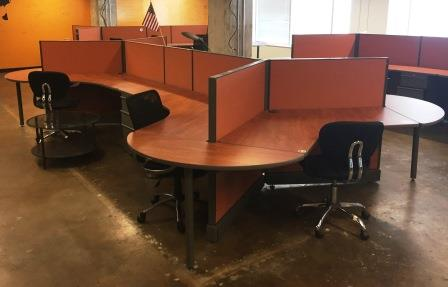 Office Furniture NOW Seating Products  AO2 6 Seat Dogbone