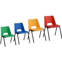 Scholar Polypropylene Classroom Chairs | Plastic Classroom ...