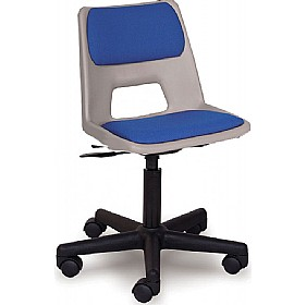 padded folding chairs uk how to make a chair scholar mobile polypropylene (optional glides) | fabric seating