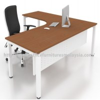 Office Modern L Shape Table Desk Malaysia price damansara ...