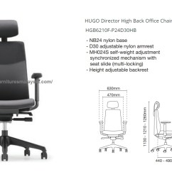 Office Chair Malaysia Cheap Table Linens And Covers Hugo Director High Back Perabot Online