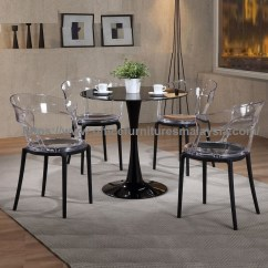 Cheap Chairs For Sale Chair Design Shop Modern Clear Acrylic Dining And Glass Table Set