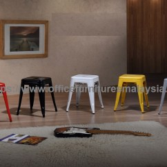 Bar Stool Chair Malaysia Invacare Geri Parts Coloured Industrial Price