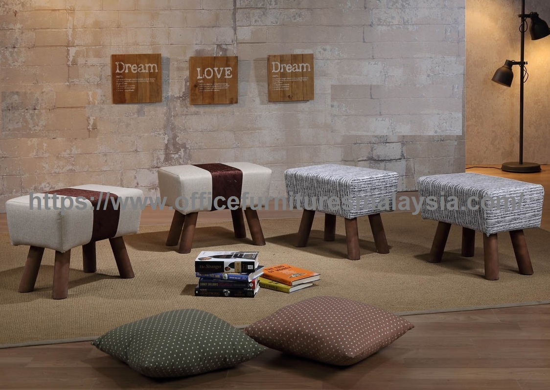 bar stool chair malaysia pewter modern wooden ottomans - office furniture online shop