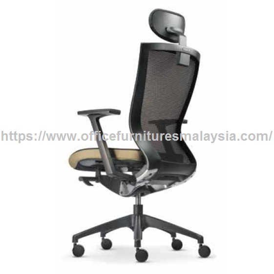 back support for office chair malaysia rio backpack beach simple design director high mesh online good services furniture shop kota kemuning rawang