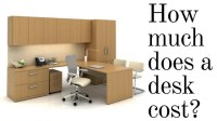 How much does a desk cost? | Office Interiors