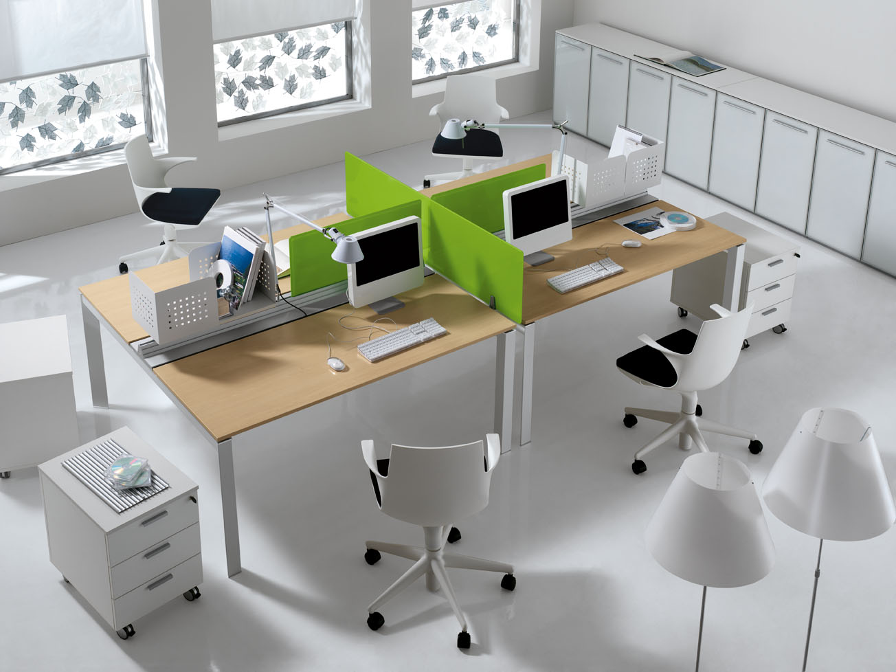 Open Plan Office Furniture Open Plan Offices Belfast Ois