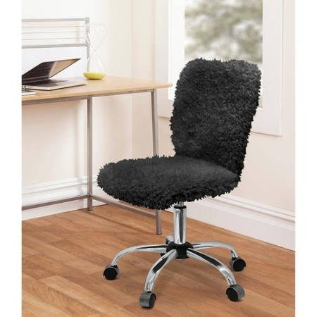 Fun and Stylish Urban Shop Faux Fur Task Chair with