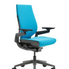 Steelcase Gesture Chair Ergonomic Qualities Office Shell Back Dark On Frame Lumbar Support