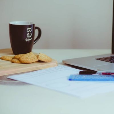Image of office coffee and snacks