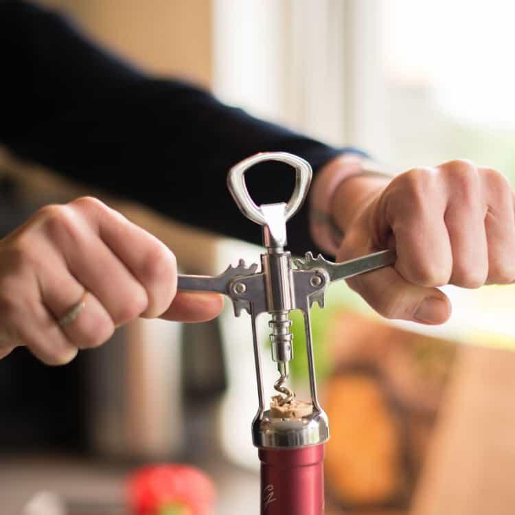 Image of a wine bottle opener