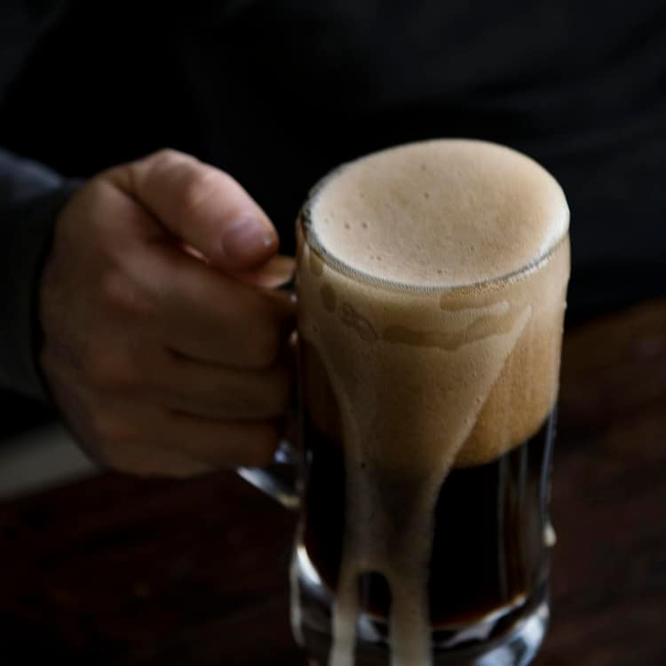 image of a brown ale