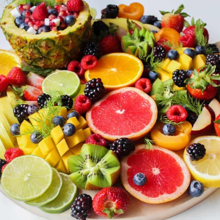 image of fresh fruit for snacks