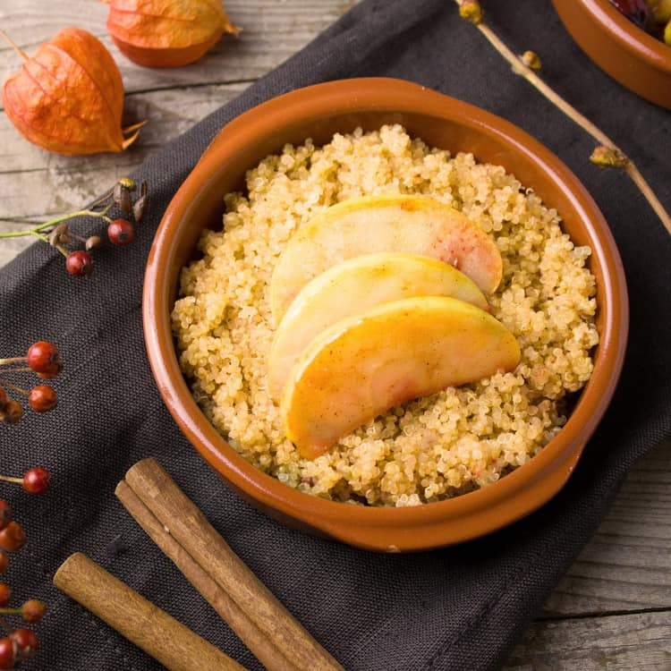 image of quinoa as a healthy snack for work