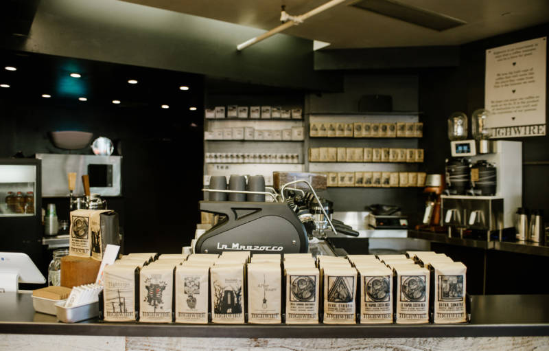 Image of coffee from Highwire Coffee Roasters