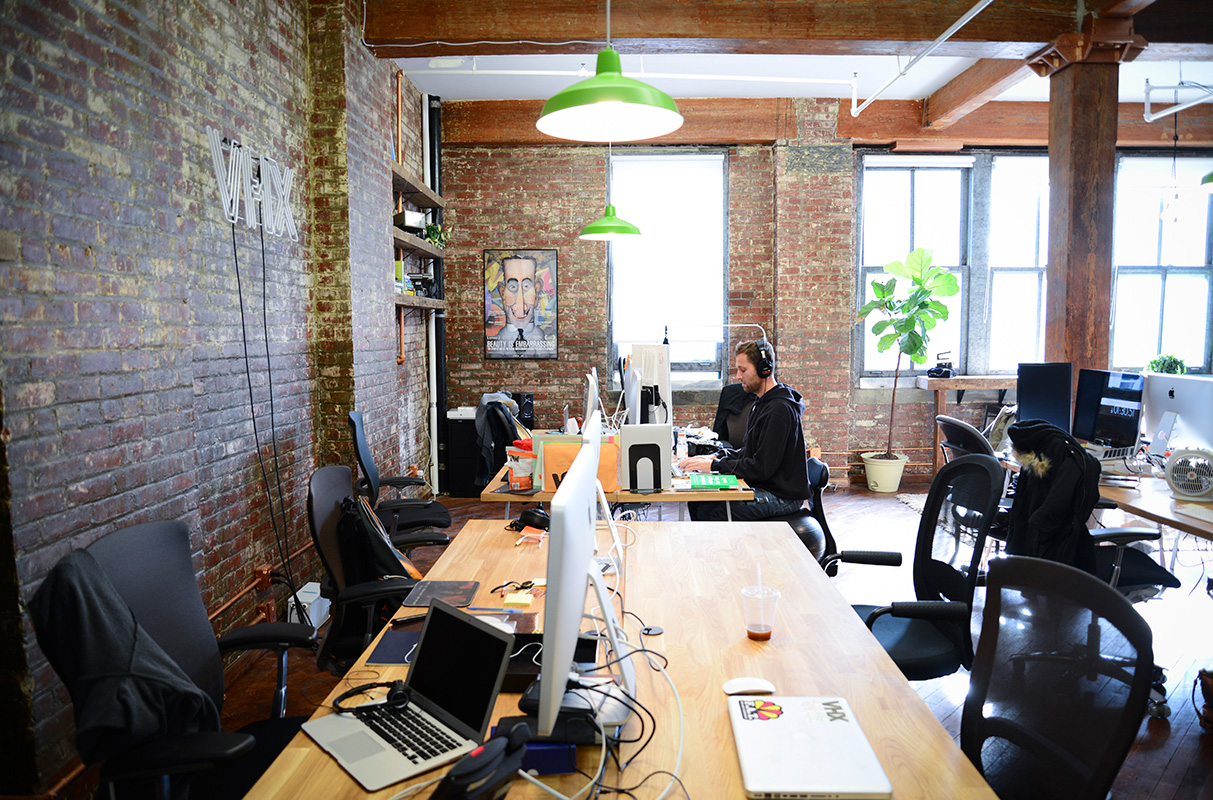 A Tour of VHXs Hip Brooklyn Office  Officelovin