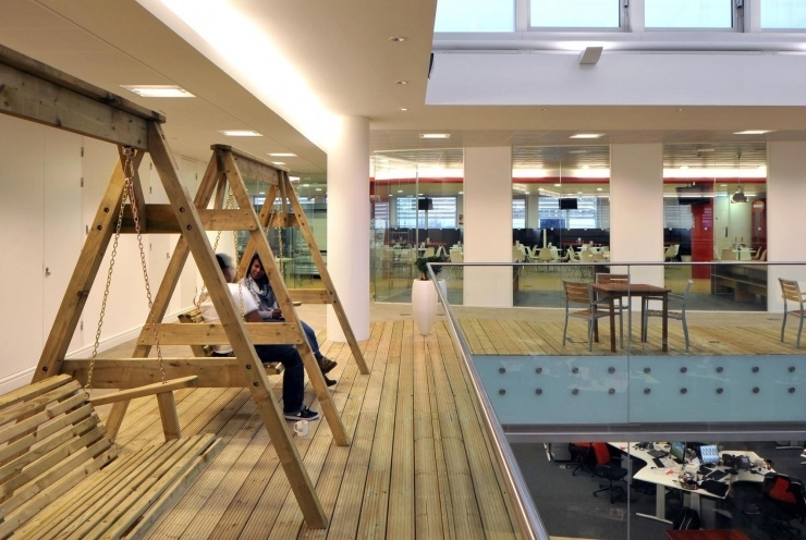 Take A Look At Rackspaces Middlesex Offices Officelovin