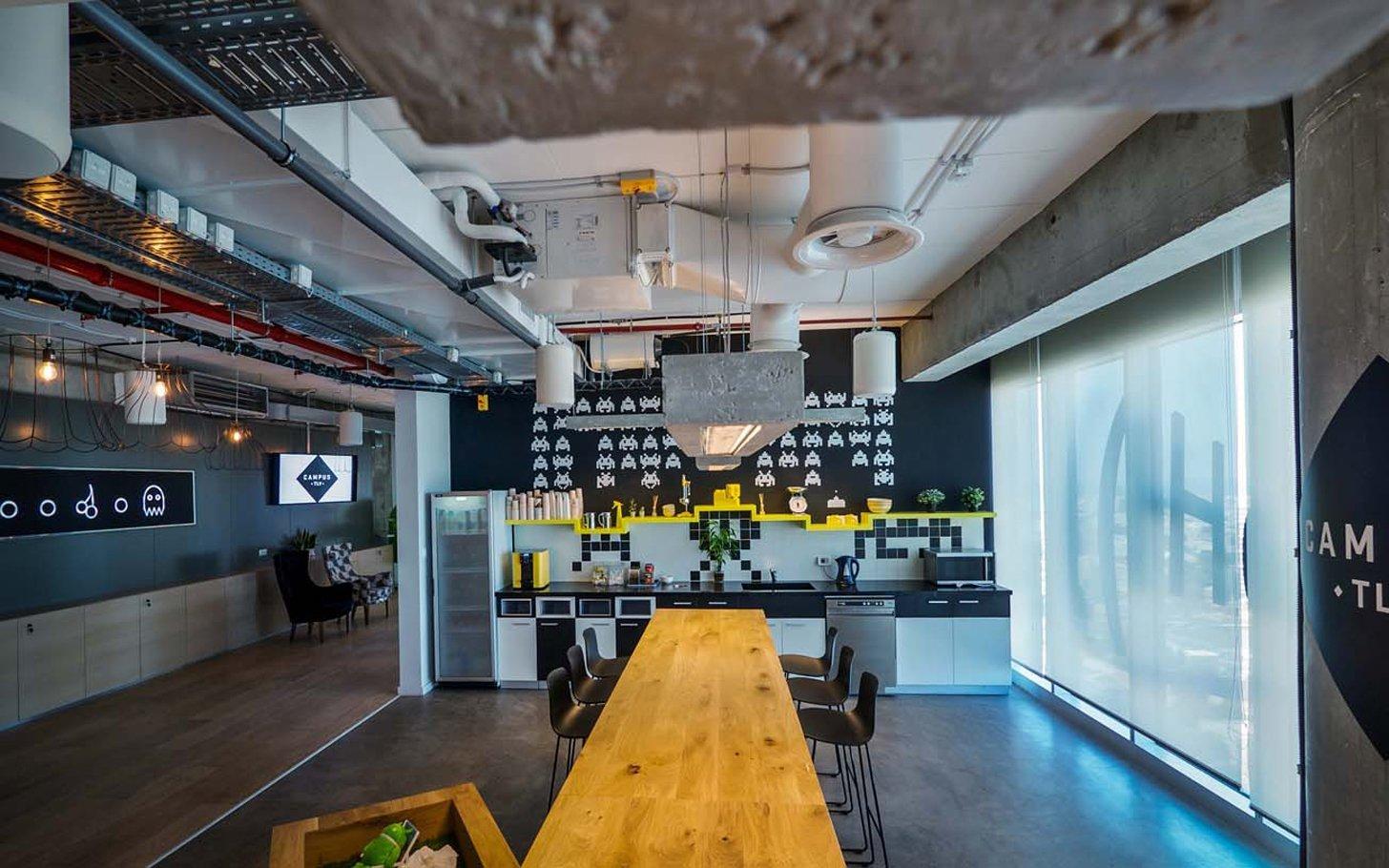 Googles Stunning Tel Aviv Campus  Officelovin