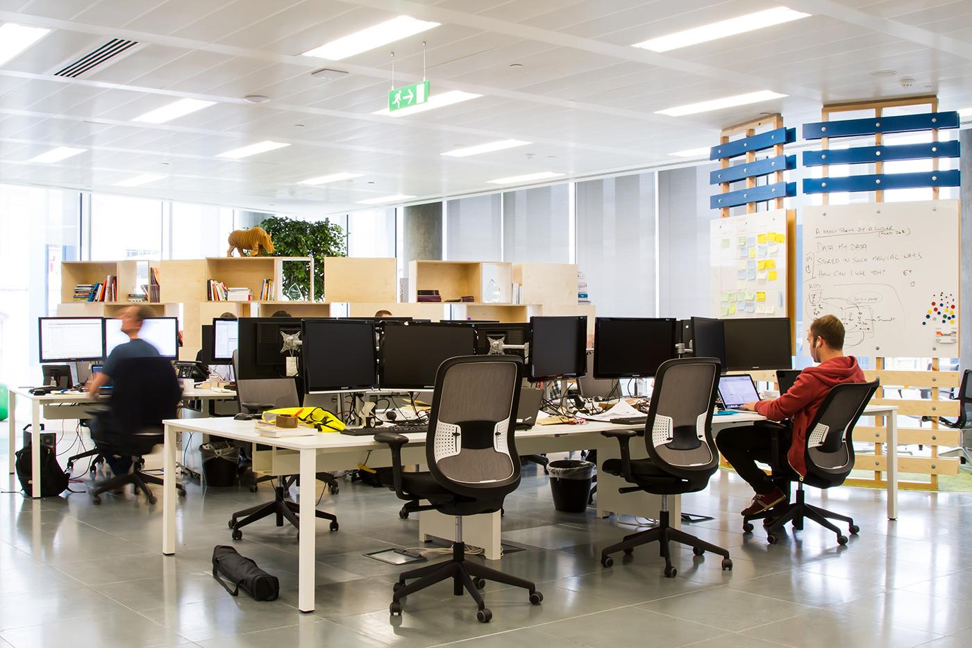 Inside JustGivings London Office Officelovin