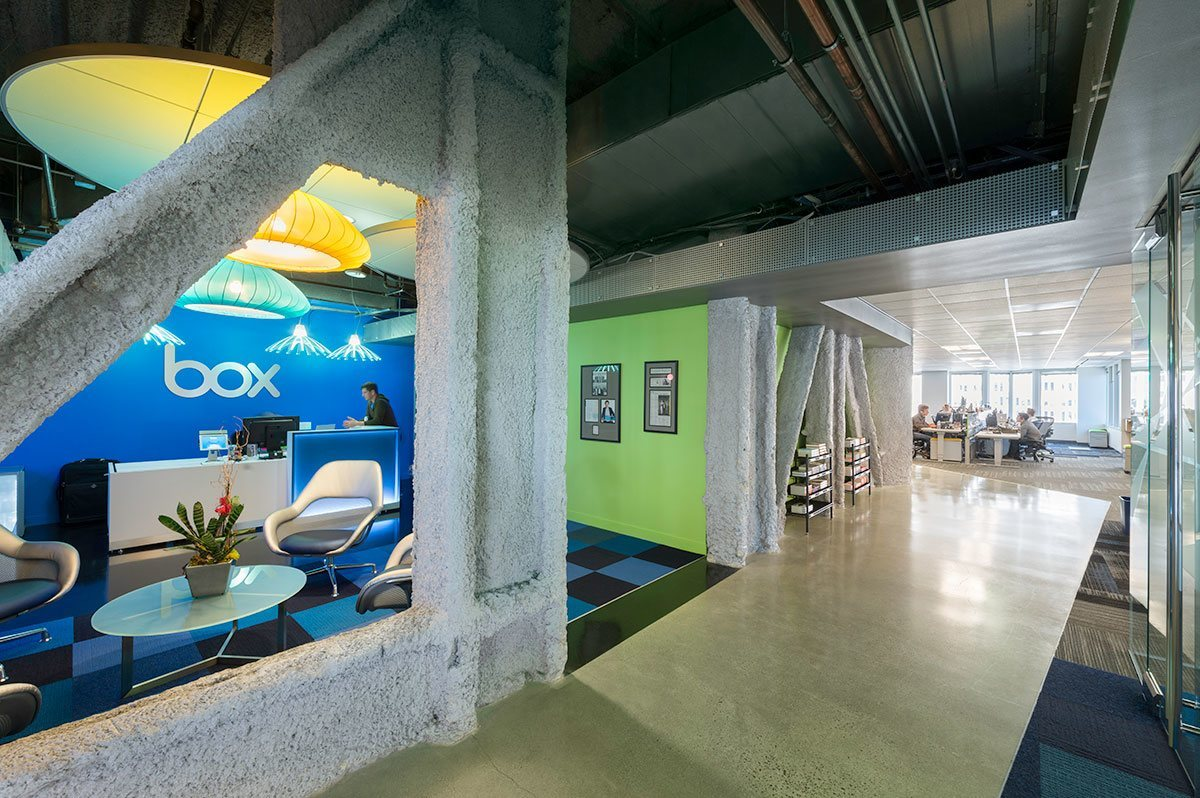 Take a Tour of Box's Cool San Francisco Office - Officelovin'