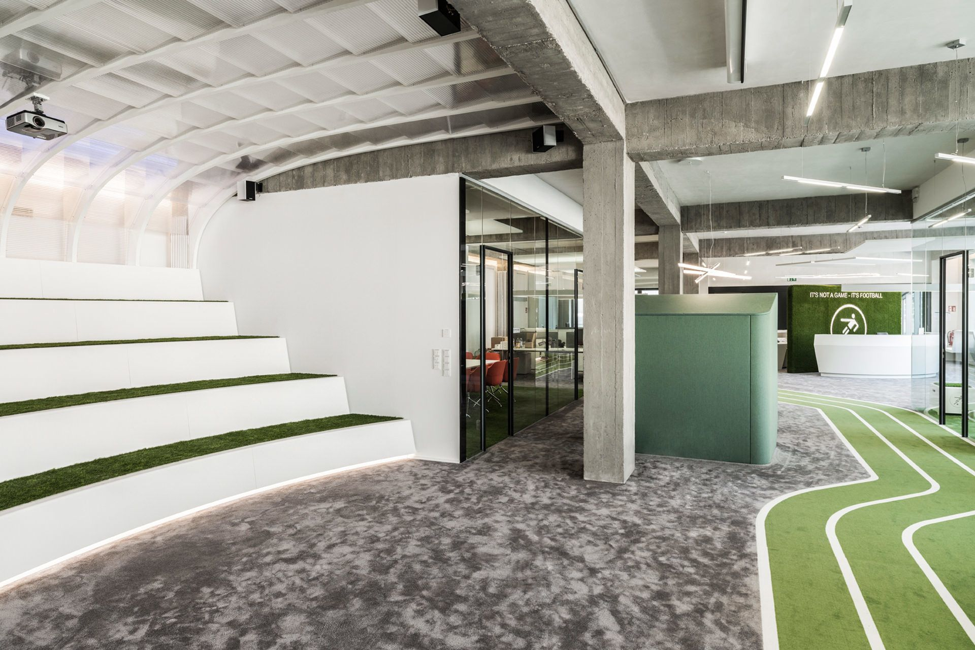 A Look Inside Onefootballs New Berlin Headquarters