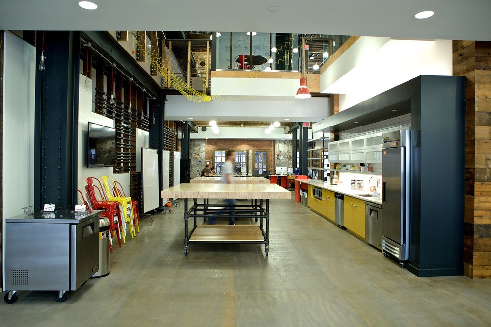 Check Out Photos of Detroit Labs Cool Office  Officelovin