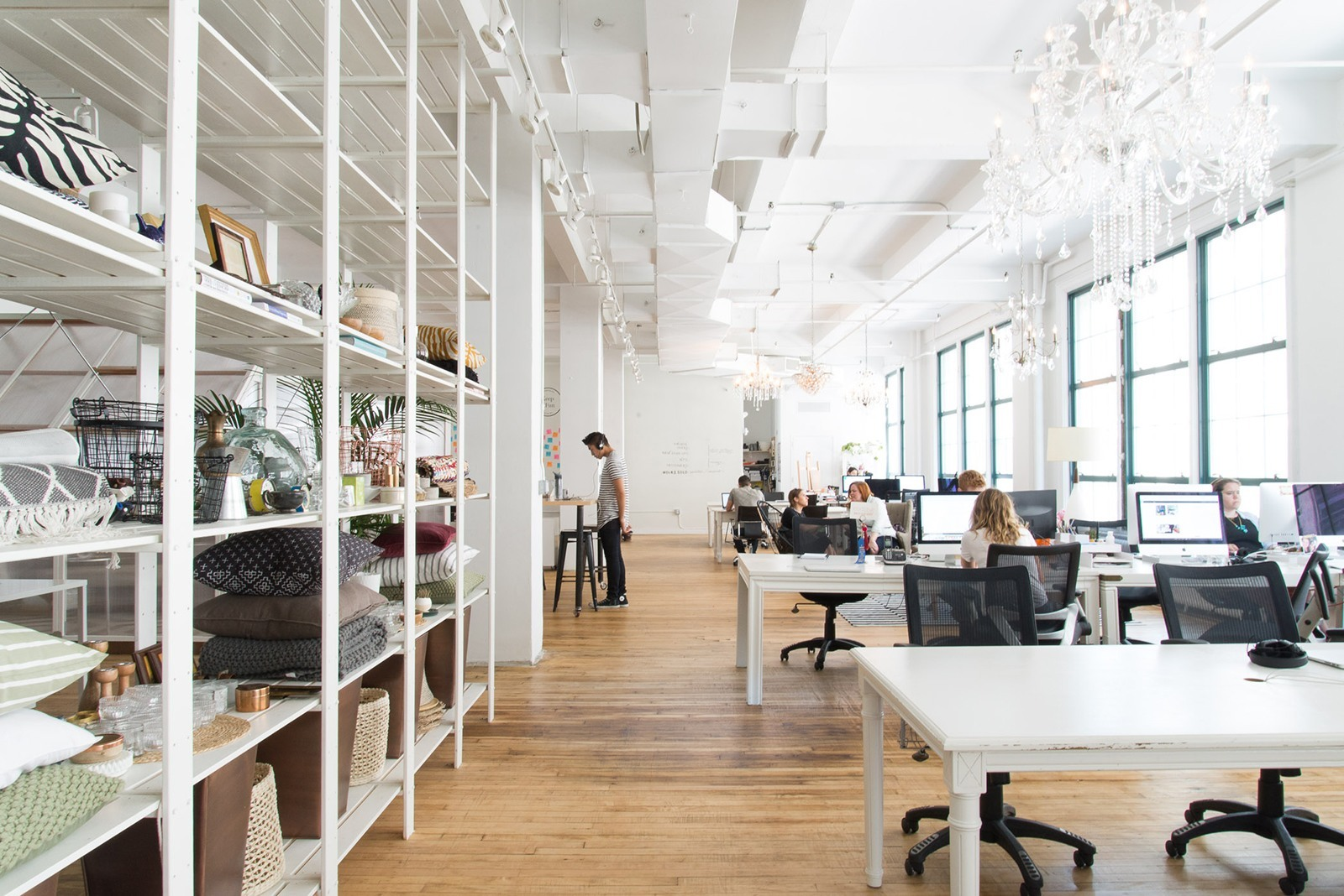 A Tour of Homepolishs New NYC Headquarters  Officelovin