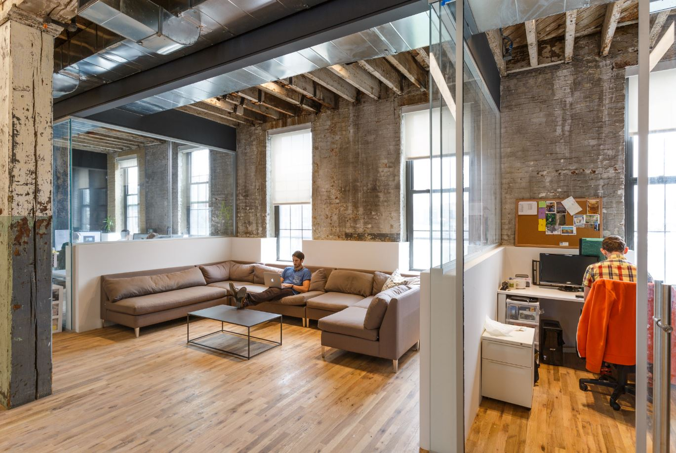A Quick Look Inside Coworkrs Brooklyn Coworking Space  Officelovin